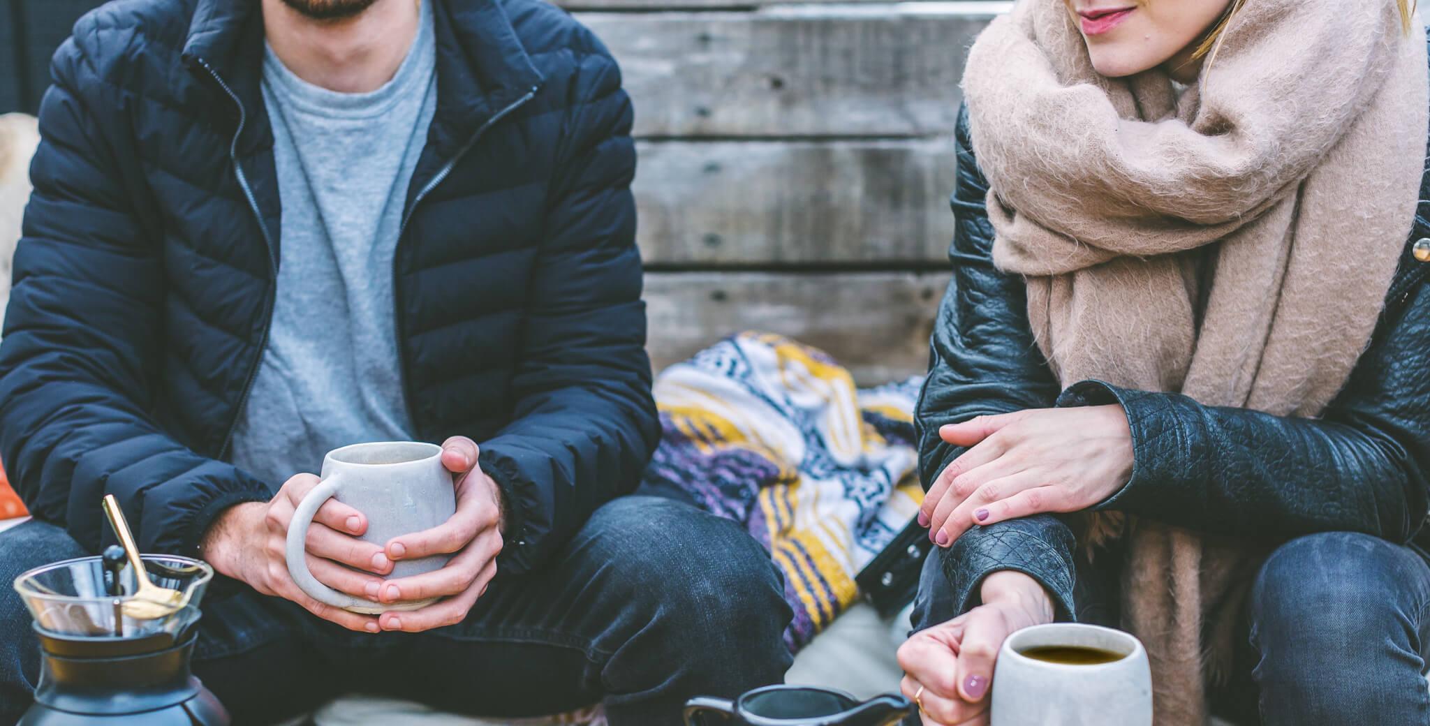 Friends Drinking Coffee 4460×4460