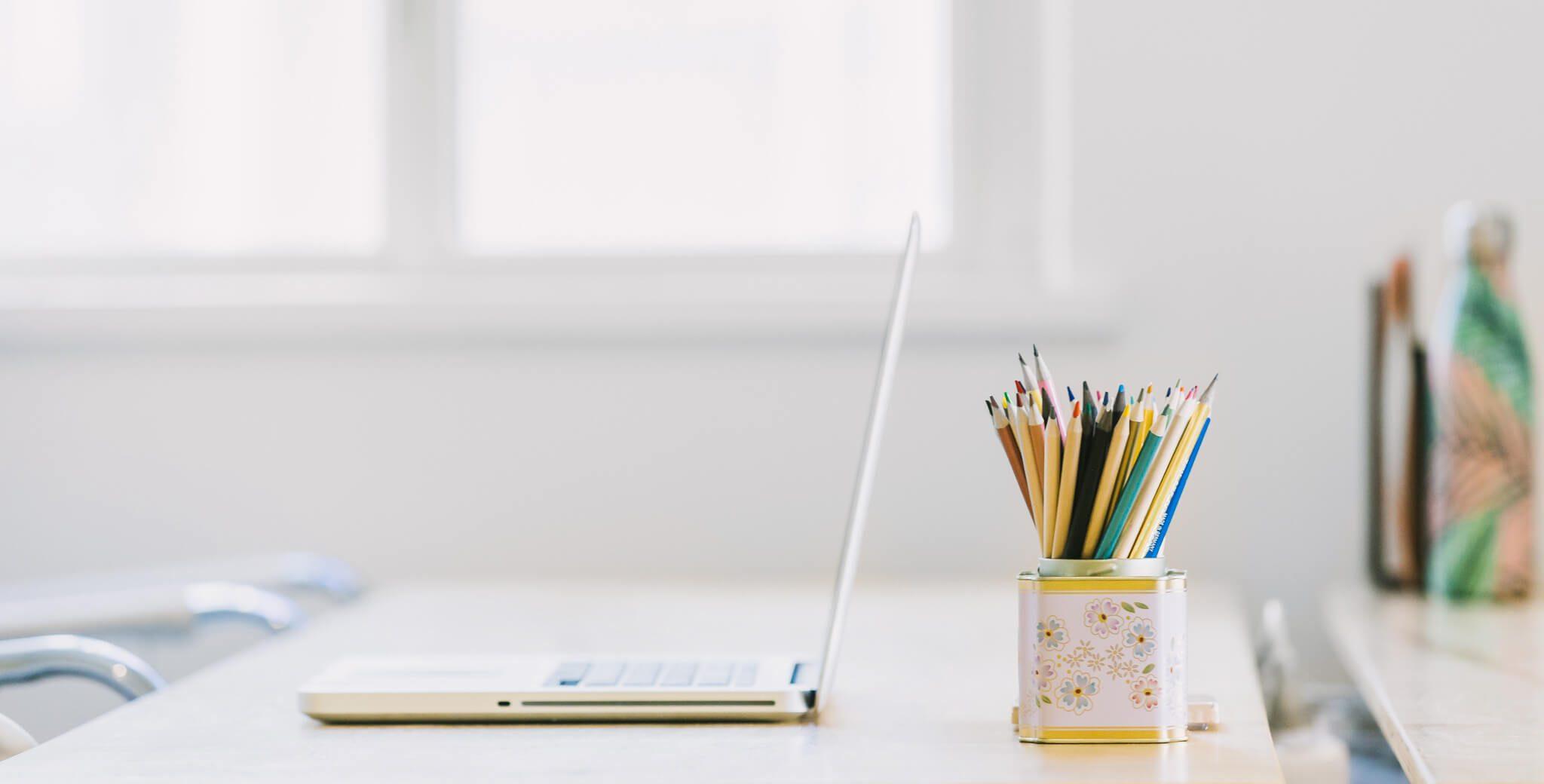 Tidy Desk In Window Light 4460×4460